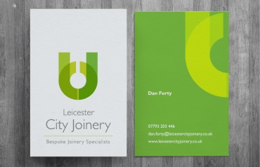 New brand and website for Leicester City Joinery.