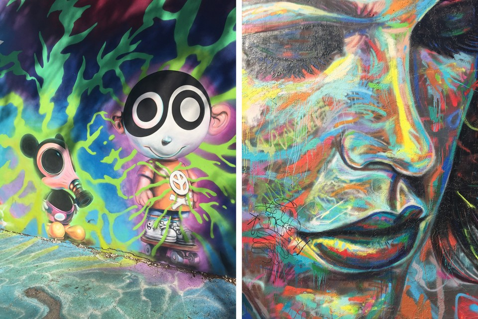 Graffiti Art at Wynwood Walls Miami