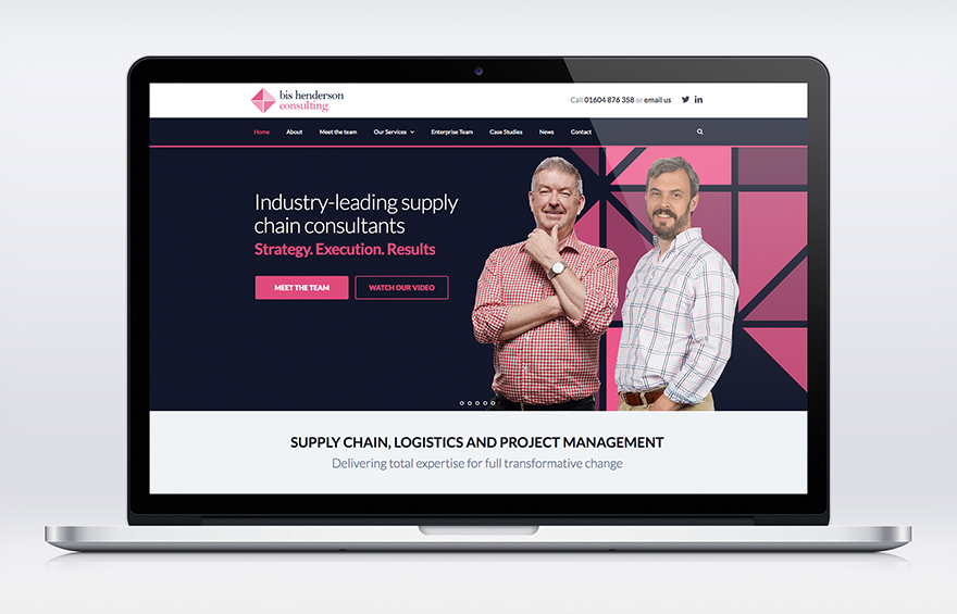 Consulting website launched for Bis Henderson